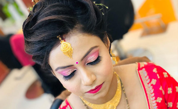 Best bridal makeup artist in gomti nagar Lucknow